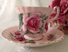 Royal Albert China Tea cup and Teacup Set by TheEclecticAvenue