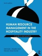 Now in its ninth edition, Human Resource Management in the Hospitality Industry: A Guide to Best Practice , is fully updated with new legal information, data, statistics and examples. Taking a 'process' approach, it provides the reader with an essential understanding of the purpose, policies and processes concerned with managing an enterprise's workforce within the current business and social environment.