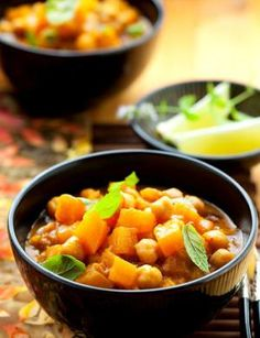 Thai Yellow Curry with Chickpeas