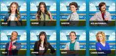 bella and the bulldogs cast names - Google Search