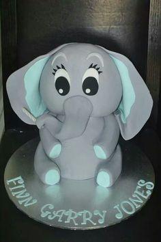 Baby Elephant cake. I think I just fell inlove