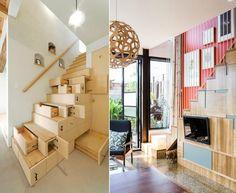 ides sur le rangement sous escalier en bois de design extraordinaire - Portes De Placard Coulissantes Brico Depot2557