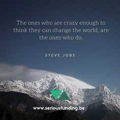 We love this Steve Jobs' #quote! What do you think guys? #startup #quoteoftheday #entrepreneur #follow4follow #stevejobs #crazy #funding #entrepreneurship #ambition #photooftheday #instalike #like4like #change #fun #boss #inspiration #Tags4like #motivational #coach #igers #tbt #f4f #entrepreuneurlife #smallbiz #succes #iot #love by seriousfundings