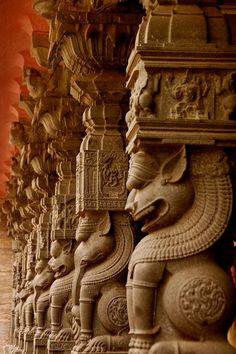 Kala Ksetram — Simhachalam temple pillars
