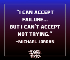 Amazing quote by one of the greatest NBA players. You have to keep trying even if you fail! #nba #basketball #michaeljordan #sports
