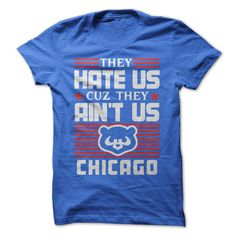 They Hate Us Cuz They Ain't Us  Cubbies Let's Go by BeardRules