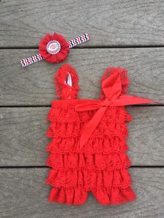 A personal favorite from my Etsy shop https://www.etsy.com/listing/265072952/mlb-cincinnati-reds-baby-outfit-and