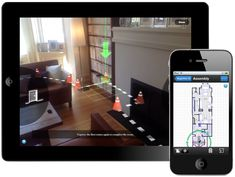 Sensopia captures the floor plan of your house. This IPhone app is a GAME CHANGER for many who see great pieces at estate sales, thrifting, etc and are guessing what could fit in their home!