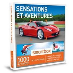 Smartbox - Coffret Cadeau Sensations Et Aventures - PriceMinister-Rakuten