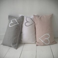 The neutral tones available in these fun cushions will add that finishing touch to any little girls room #cushion #pillow #neutral