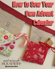 One project I've been pondering for years is making my own Advent calendar. So I hopped online for ideas, found the gorgeous Flickr pool of handmade Advent treasures, got good and inspired.