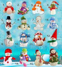 Выберите снеговика и получите предсказание на зиму!