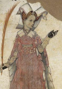 .:. Castello della Manta (Saluzzo), fresco cycle in the Baronial Hall, 1420.