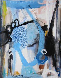 Malerier på lærred - trine panum