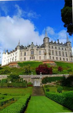 At the Dunrobin Castle in Scotland.