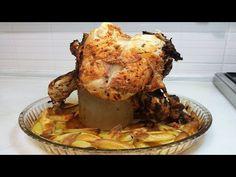 KAVANOZDA TAVUK ÇEVİRME - Yemek Tarifleri - YouTube Chicken Recipes, Pasta, Meat, Food, Youtube, Essen, Meals, Yemek, Youtubers