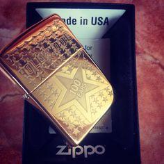 Zippo 100 years hollywood brass