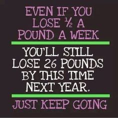 Chalkboard Weight-Loss Quotes Photo 7:
