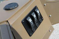 Pro Camp 161 lighted rocker switch panel | Smoker Craft Fishing Boat