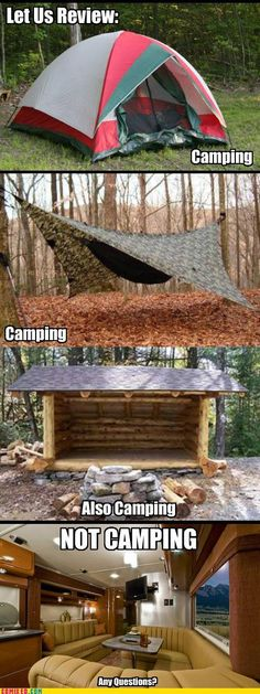 (from Sleepin in Tents FB page)  I must agree...