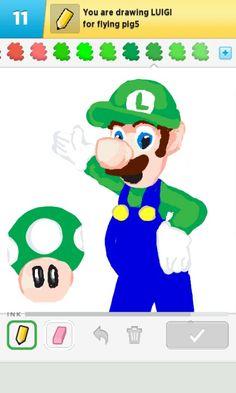 itsa Luigi!
