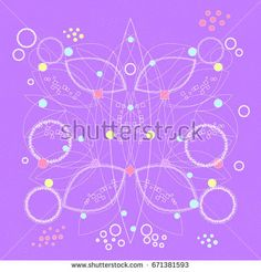 Abstract geometric pattern. Vector background.