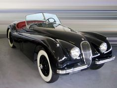 Jaguar Roadster.