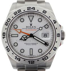 Rolex Explorer II [white face]