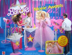 Fashion Doll: Super Star Barbie MOVIE AWARDS Playset 1988 Arco Toys Mattel * Find out more about the great product at the image link.