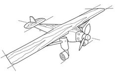 Ah! E se falando em madeira...: Toys Aeroplano