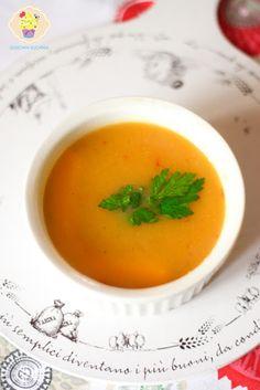 Krem z dyni na ostro - DusiowaKuchnia.pl Pesto, Cantaloupe, Soup, Fruit, Ethnic Recipes, Soups