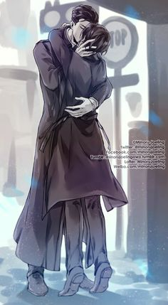Modern AU for MDZS Main story will be XiYao WangXian just a supporting characters MengYao~He is a spy from police force. Harry Potter Anime, Arte Do Harry Potter, Girls Anime, Hot Anime Guys, Anime Love, Anime Kiss, Anime Art, Lgbt, Hogwarts