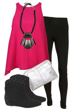 Go bold in bright pink! A great outfit that will have you hitting the shops in style, followed by a long lunch at your favourite tapas bar!