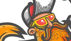 an illustration for a teeshirt design