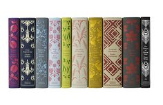 Coralie Bickford-Smith , senior cover designer at Penguin Books, combined my love for classic books, fabric and art with her lovely desig. Penguin Clothbound Classics, Penguin Classics, Edith Holden, Club Monaco, Buch Design, 2d Design, Brand Design, Layout Design, Design Elements