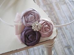Purple, Lavender Newborn Headband