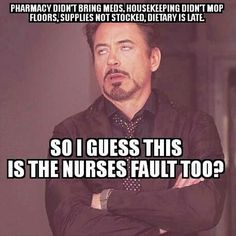 The night shift nurse of course! Work Memes, Work Humor, Work Quotes, Nurse Jokes, Psych Nurse, Dental Jokes, Hospital Humor, Hospital Food, Night Shift Nurse