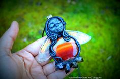 Blood moon Mother: by Spiritualmother on Etsy