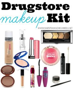 Makeup Starter Kit: Drugstore Products - Hairspray and Highheels