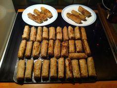 porc, oignon blanc, carotte, champignon noir, vermicelles de riz, germes de soja, oeuf, ail, galettes de riz, nuoc mam