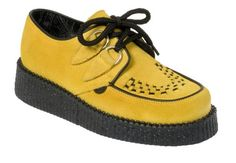 Yellow Creepers ~ hot hot hot in England