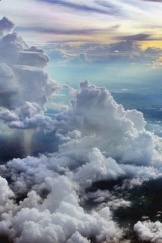 Above the clouds, basically where our heads are most of the day! Side note, talk about a beautiful view from above! Beautiful Sky, Beautiful World, Beautiful Places, Above The Clouds, Sky And Clouds, Storm Clouds, High Clouds, Colorful Clouds, Sky Aesthetic