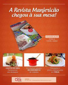 Designed by Lais Pancote :: E-MAIL MKT :: MANJERICÃO MAGAZINE #4 :: OLIK COMUNICAÇÃO :: mar/2014