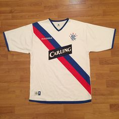 Glasgow Rangers FC Diadora 2004 2005 Soccer Football Shirt Jersey Mens Medium | eBay