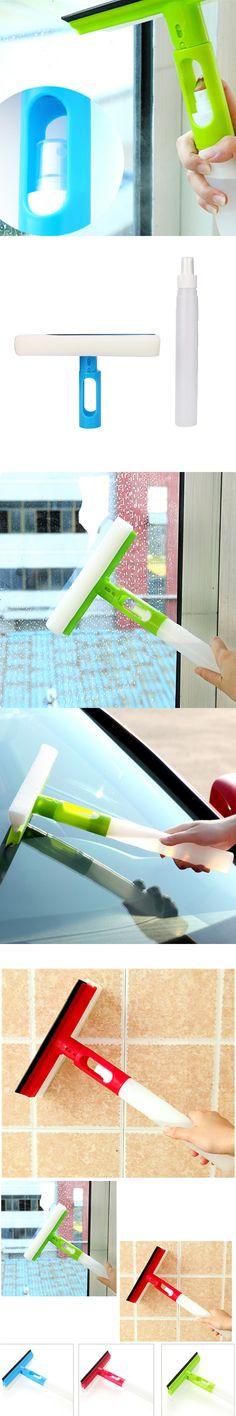 Comfortable life1 PCS Magic Spray Type Brushes Cleaner Car Window Cleaning Airbrush Glass Wiper Brush G20