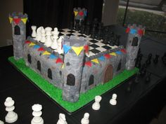 Cool Chess Cake Idea for birthday party