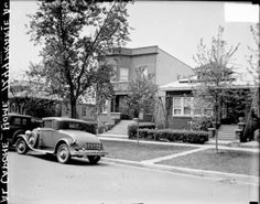 Al Capones home, 7244 Prairie Ave, c.1929its still there.