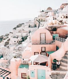 Have a wonderful Monday. // Can you tell how much I love Santorini? Its such a picture perfect destination. : Photo credit Reposted with Honeymoon Getaways, Vacation Trips, Dream Vacations, Greece Honeymoon, Greece Trip, Ways To Travel, Places To Travel, Travel Destinations, Travel Hacks