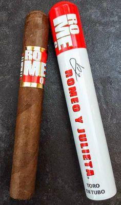 CigarDan's Cheap Ash Reviews: Romeo Toro En Tubo by Romeo y Julieta Cigars