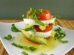 A Summer Salad From Paris by culinarycory. Recipe and photo via SaraMolton. #Salad #Summer #culinarycory #SaraMolton